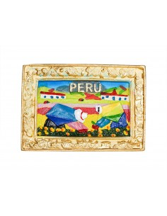 Peru - 3D Resin Fridge Magnet