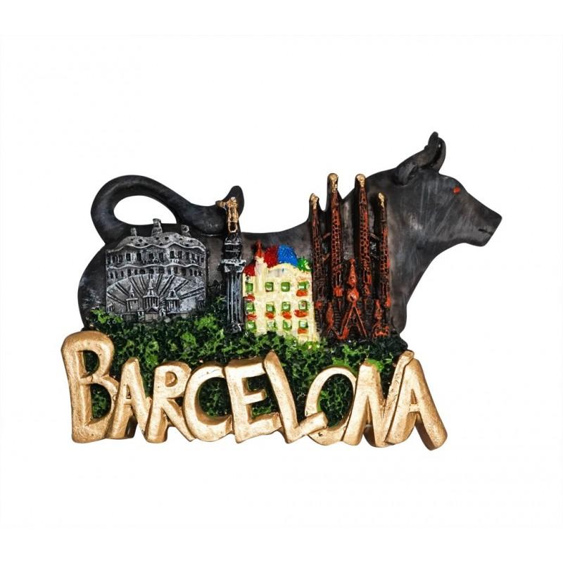 Landmark, Barcelona, Spain - 3D Resin...
