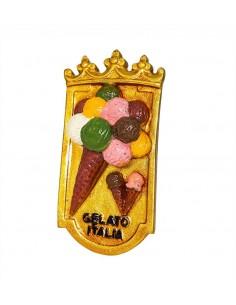 Italy, Gelato, ice cream -...