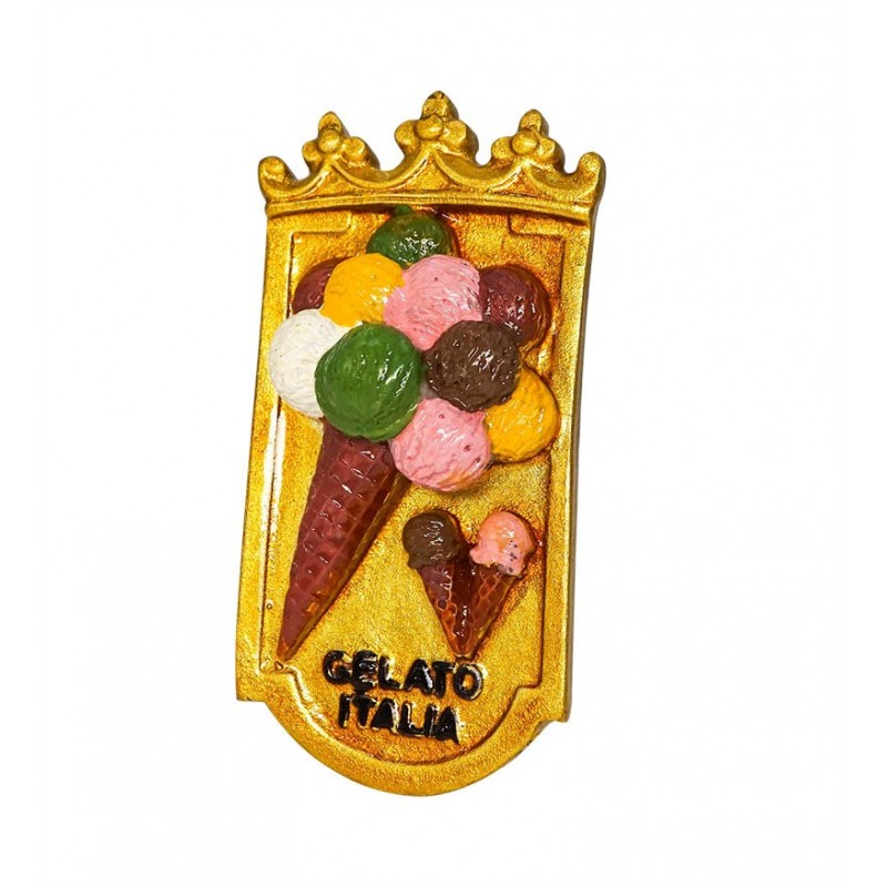 Ice Cream, Gelato, Italy - 3D Resin...