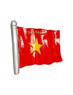 Flag of Vietnam - 3D Resin...