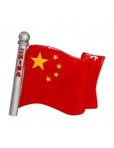 Flag of China - 3D Resin...