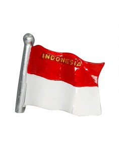 Flag of Indonesia - 3D...