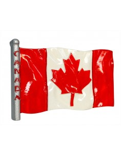 Flag of Canada - 3D Resin...