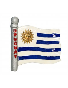 Flag of Uruguay - 3D Resin...