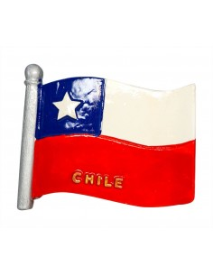 Flag of Chile - 3D Resin...