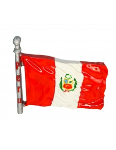 Flag of Peru - 3D Resin...