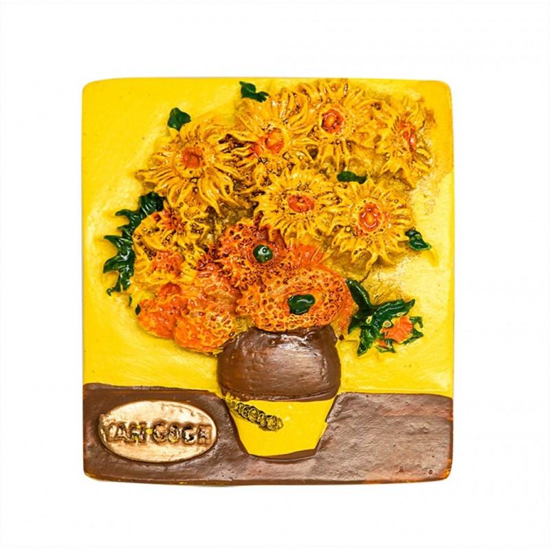 Sunflower, Van Gogh, Netherlands - 3D...
