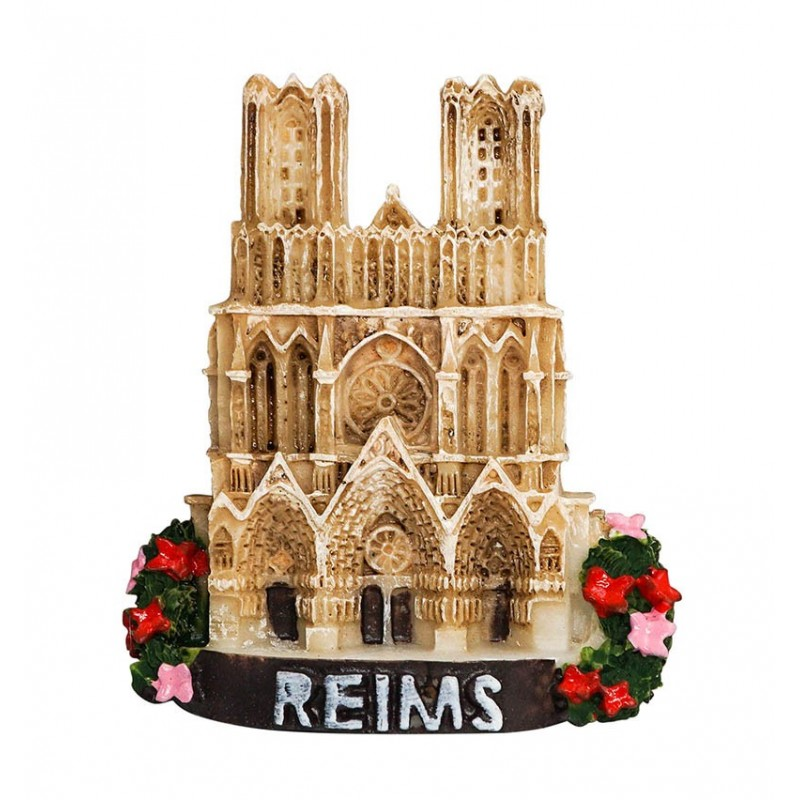 Reims Cathedral, France - 3D Resin...