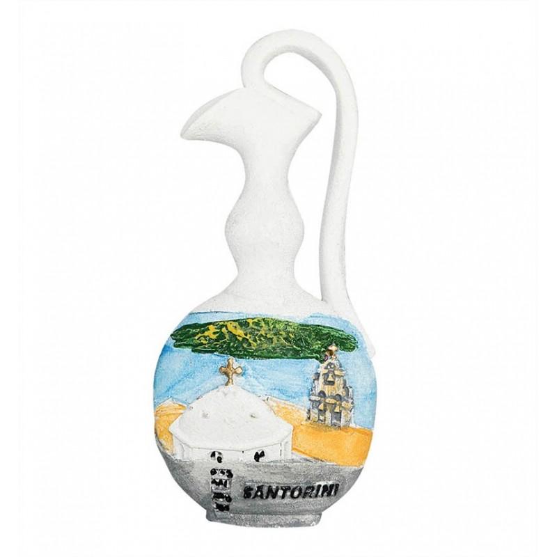 Santorini, Greece - 3D Resin Fridge...