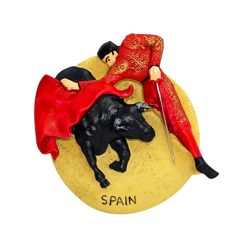 Bullfighting, Spain - 3D Resin Fridge...