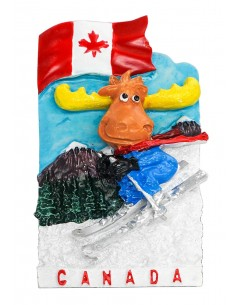 Canada, Yak - 3D Resin...