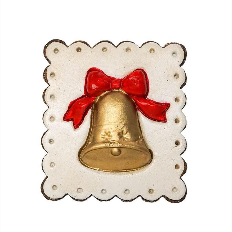 Christmas Bell - 3D Resin Fridge Magnet