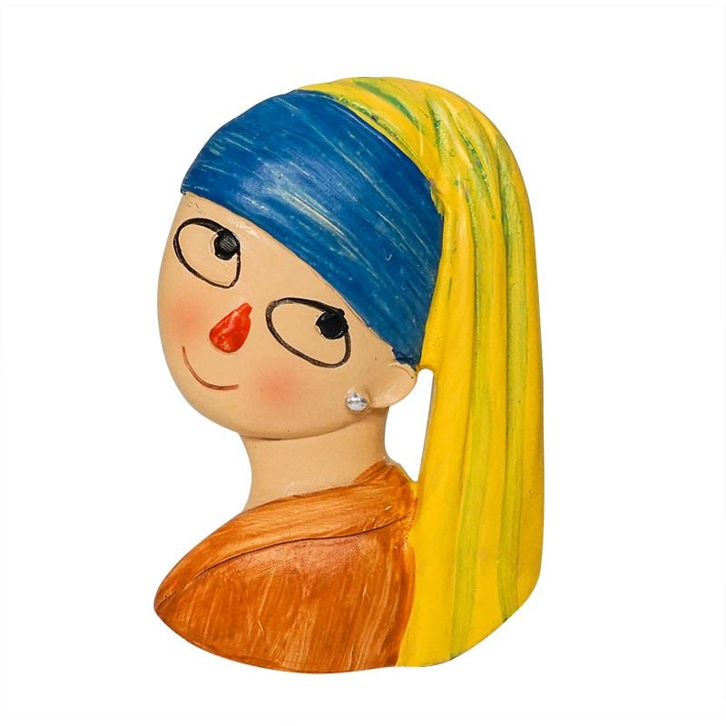 Girl with a Pearl Earring - 3D Resin...