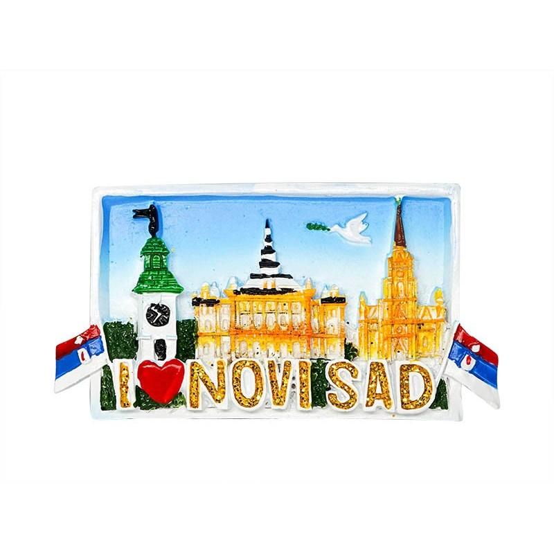 Landmark, I love Novi Sad, Serbia -...
