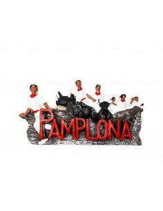Spain, Pamplona, Running of...