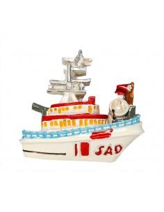 Ship - 3D Resin Fridge Magnet