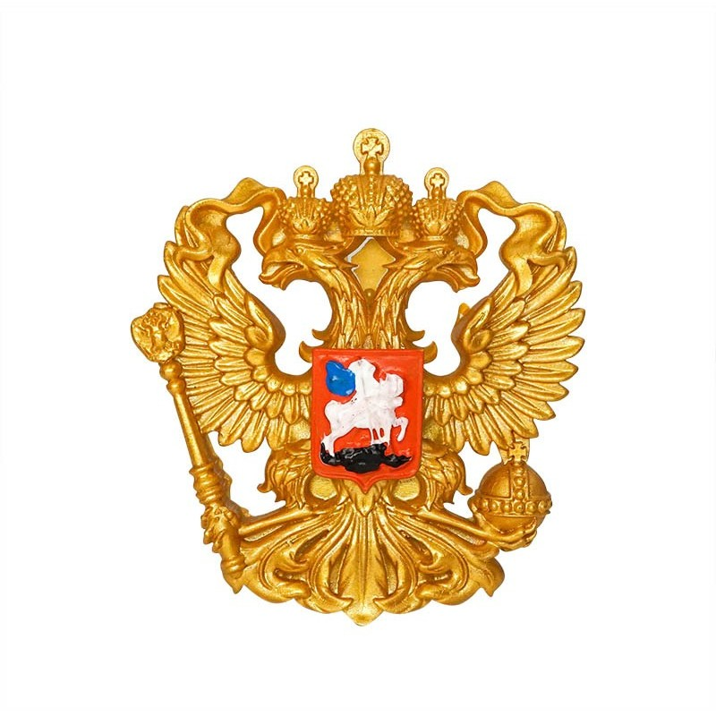 Coat of arms of Russia - 3D Resin...