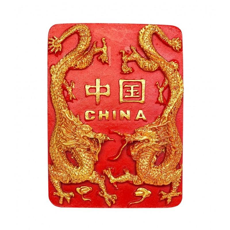 China Long, Chinese Dragon - 3D Resin...