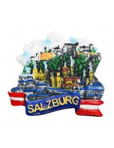 Austria, Salzburg Panorama...