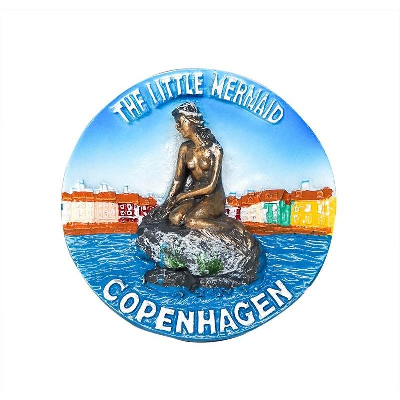 The Little Mermaid, Copenhagen,...