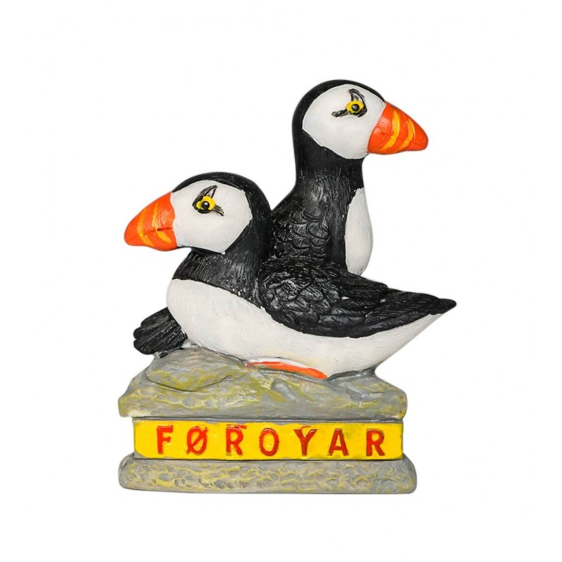 Seagull of Faroe Islands, Denmark -...